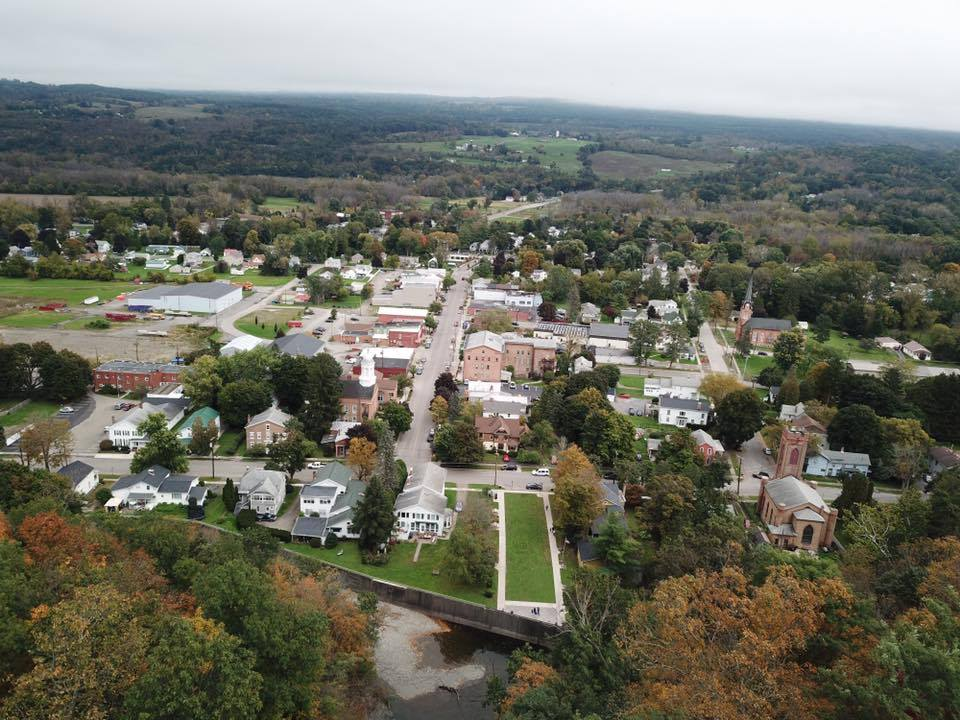 Village of Montour Falls taken by Patrick Tomassi