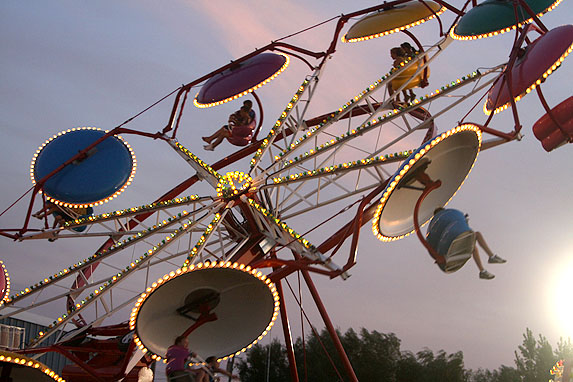 Ride at the Hector Fair